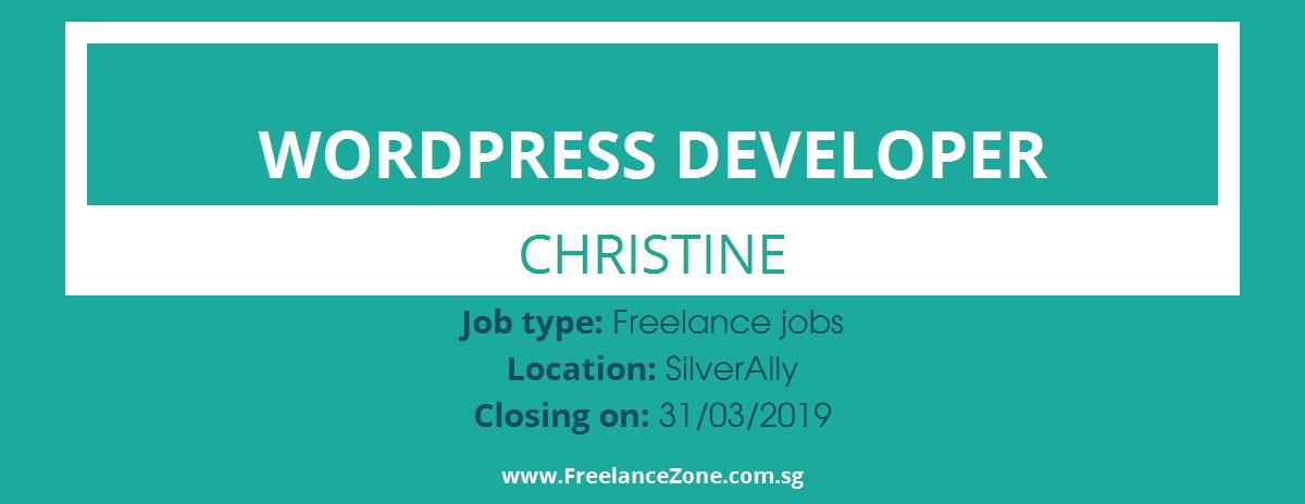 Wordpress Developer needed | Freelance position for Singapore