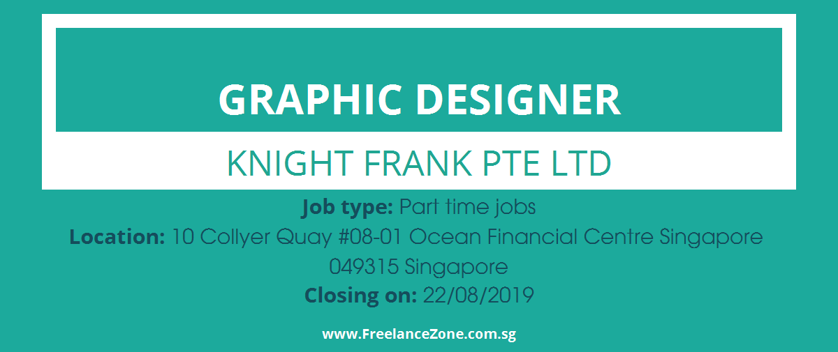 Graphic Designer needed | Part time position for Singapore part timers