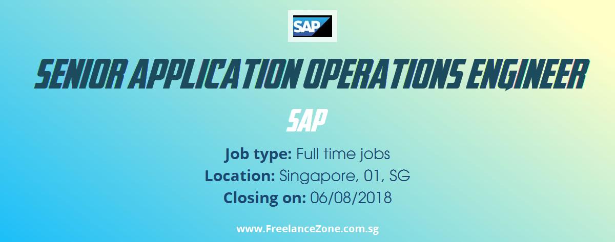 Senior Application Operations Engineer needed | Fulltime position ...